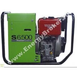 Дизельный генератор Pramac S 6500 (1 фаза)