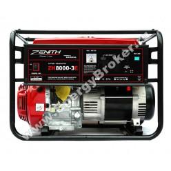 Бензиновый генератор ZENITH ZH8000E-3