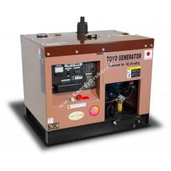 Дизельный генератор TOYO TKV-7.5SPC