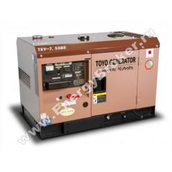 Дизельный генератор TOYO TKV-7.5SBS фото