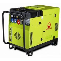 Бензиновый генератор Pramac P12000 (1 фаза) + коннектор