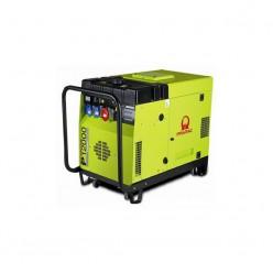 Бензиновый генератор Pramac P12000 (3 фазы) + коннектор