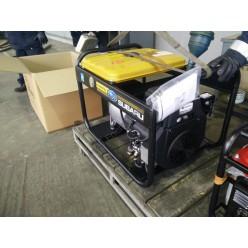 На раме Robin-Subaru EB 14,0/230-SLE пакет документации на сам генератор, альтернатор, двигатель и рем. комплект
