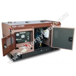 Дизельный генератор TOYO TKV-14TBS фото