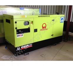 Дизельный генератор Pramac GSW65D в кожухе
