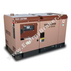 Дизельный генератор TOYO TKV-20TBS фото