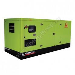 Дизельный генератор Pramac GSW560V кожух