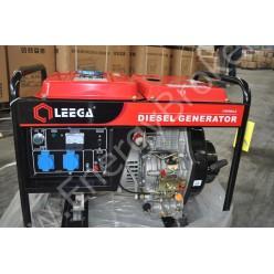 Бензогенератор Leega LT6500CLE с автозапуском
