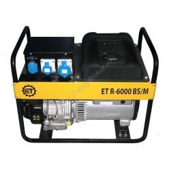 Бензиновый генератор ET R-6000 BS/M