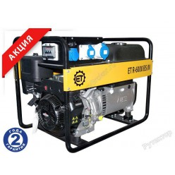 Бензиновый генератор ET R-6000 BS/E
