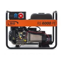 Генератор бензиновый RID RS 6000 PE