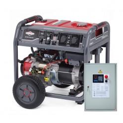 Электрогенератор мобильный бензиновый