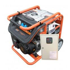 Бензиновый генератор Eco ZM6500E с АВР