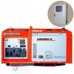 Генератор Kubota GL 9000 с АВР