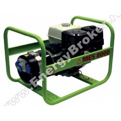 Бензиновый генератор Pramac MES 8000 (1 фаза)