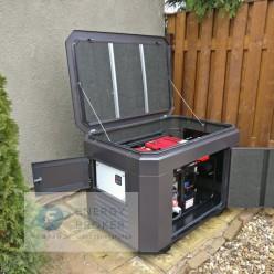 Генератор EuroPower EP 13500 TE в кожухе с блоком АВР