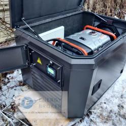 Электрогенератор Eco ZM 9500 E в кожухе с автозапуском