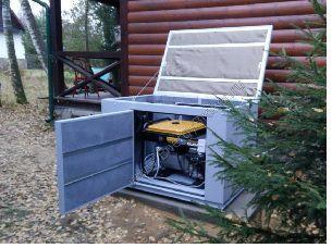 Бензиновые генераторы для дома