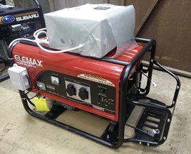 Бензиновый генератор Elemax с автозапуском