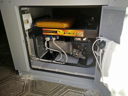 Установка генератора Subaru в п. Трубачеевка