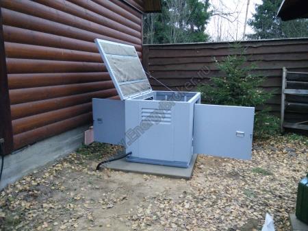 Проект автономного энергоснабжения в дер. Бабкино, МО