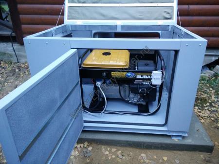 Установка генератора Robin-Subaru 10 кВт