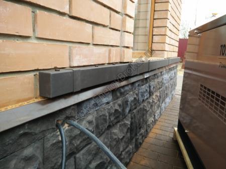 Короб металлический для дизель-генератора