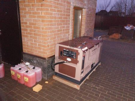 Монтаж генератор закончен. Финальное фото