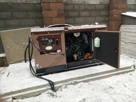 Установка электрогенератора TOYO