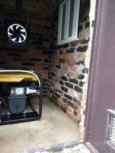 Внутренние системы жизнеобеспечения автономного электрогенератора