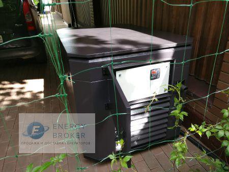 Фотография 3 монтажа генератора Элемакс 10 кВт в ДНП Дубрава