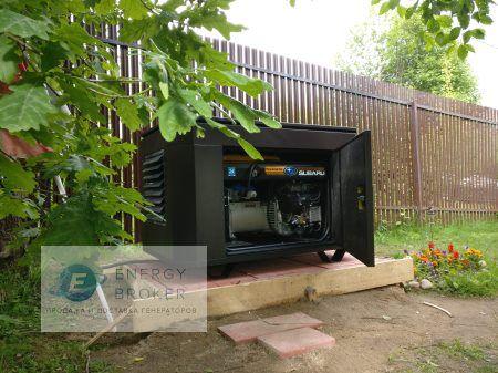 Генератор Субару 12.8 кВт в СНТ Кузнечиково фото 1