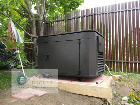 Генератор Субару 12.8 кВт в СНТ Кузнечиково фото 3