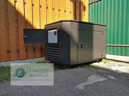 Установка бензинового генератора SH 11000 в Нахабино фото 1