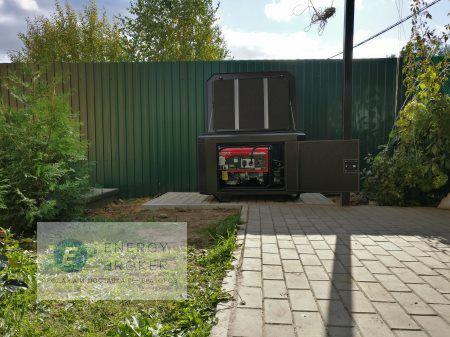 Монтаж генератора Элемакс 7600 в село Синьково фото 3