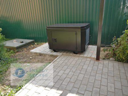 Монтаж генератора Элемакс 7600 в село Синьково фото 4