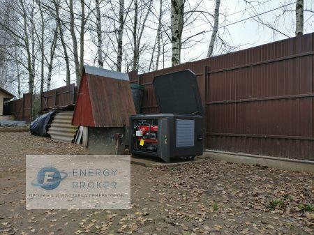 Фотография 4 монтажа генератора Elemax в СНТ Мишнево-2