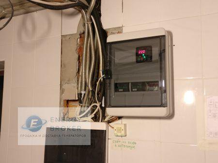 Фотография 2 монтажа генератора Elemax в СНТ Мишнево-2
