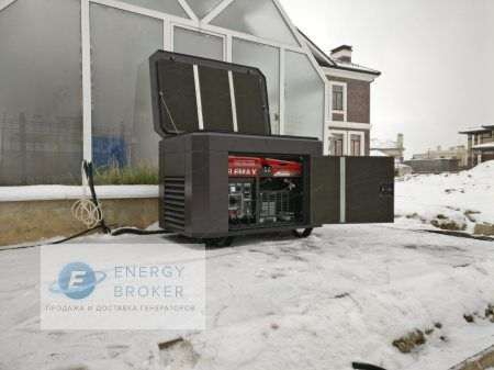 Установка генератора 10 кВт в КП Миллениум Парк фото 1