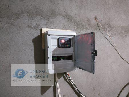 Установка генератора 10 кВт в КП Миллениум Парк фото 5
