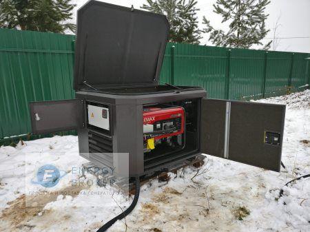Монтаж Элемакс SH7600 в качестве энергомодуля 3
