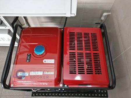 Замена электроагрегата 7600 на 11000 фото 1