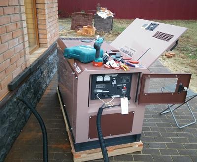 Обслуживание генераторов и электростанций