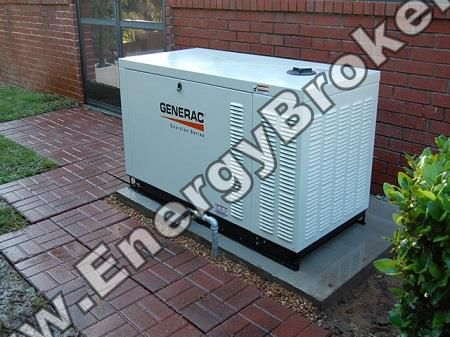 Поставка генератора GENERAC QT027