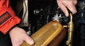 Замена масла на двигателе Europower