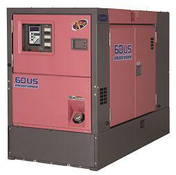 Тихий дизельный генератор производство Япония