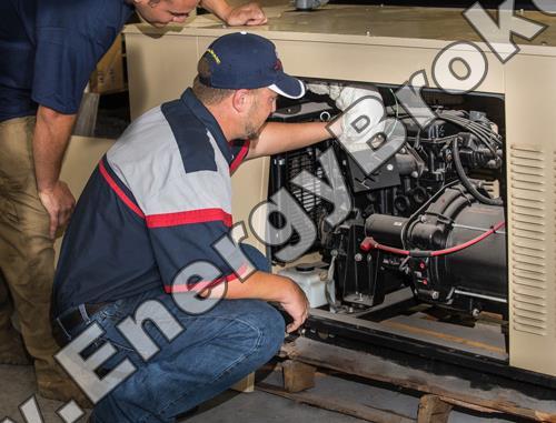 Монтаж и обслуживание генератора